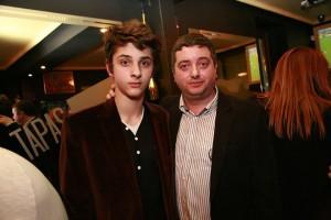 Tapas & Wine Bar - Витомир Саръиванов, заедно със сина си Стефан