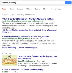 google search strategy